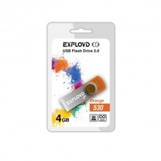 Флеш-накопитель USB 4GB Exployd 530 оранжевый (EX004GB530-O)