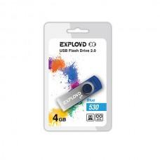 Флеш-накопитель USB 4GB Exployd 530 синий (EX004GB530-Bl)