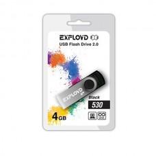 Флеш-накопитель USB 4GB Exployd 530 черный (EX004GB530-B)