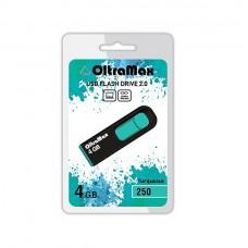 Флеш-накопитель USB 4GB Oltramax 250 бирюзовый