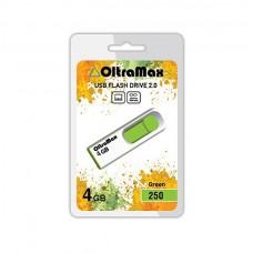 Флеш-накопитель USB 4GB Oltramax 250 зеленый (OM-4GB-250-Green)