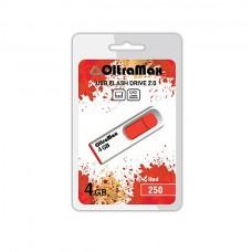 Флеш-накопитель USB 4GB Oltramax 250 красный