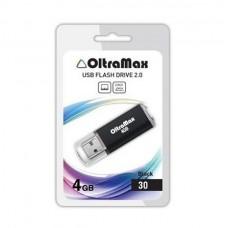 Флеш-накопитель USB 4GB Oltramax 30 черный