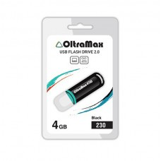Флеш-накопитель USB 4GB Oltramax 230 черный