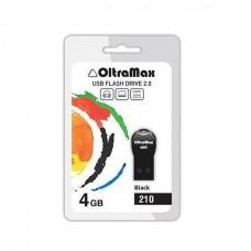 Флеш-накопитель USB 4GB Oltramax 210 черный