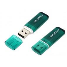 Флеш-накопитель USB 4GB Qumo Optiva 01 зеленый