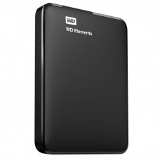 Внешний жесткий диск HDD 1TB Western Digital Elements SE Portable (WDBUZG0010BBK-WESN)