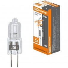Лампа капсульная галогенная TDM JC - 20Вт - 12В - G4