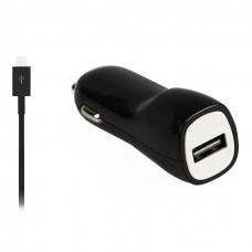 Автомобильное зарядное устройство Smartbuy Intro Black Micro USB