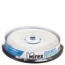 Диск Mirex DVD+R 4.7 GB 16x Printable Inkjet Box 10 шт (UL130029A1L)