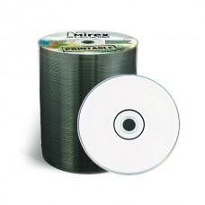 Диск Mirex DVD+R 4.7 GB 16x Printable Inkjet Bulk 100 шт (UL130029A1T)