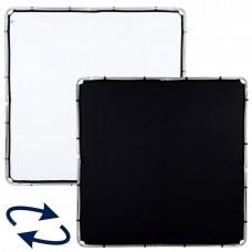 Флаг Skylite Rapid Fabric L 2 x 2 м черный/белый