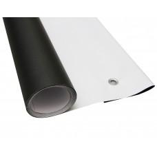 Фон виниловый FST 1.6 x3.4 м черный/белый матовый