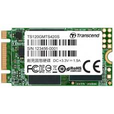 Твердотельный внутренний диск SSD Transcend 120GB MTS420 (TS120GMTS420S)