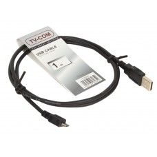 Кабель TV-COM USB 2.0 - MicroUSB 1м