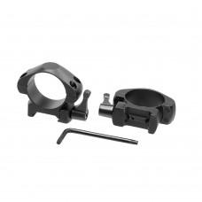 Кольца для прицела Veber E 3021 QL Weaver быстросъёмные