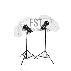 Комплект импульсного света FST E-250 Umbrella KIT