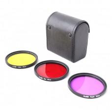 Набор цветных фильтров Fujimi GP 3FSRPY52 для GoPro