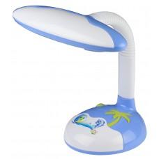 Настольный светильник ЭРА NL-250-G23-9W-BU синий