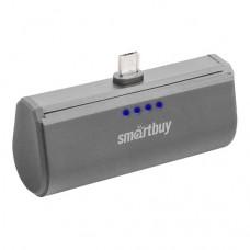 Внешний аккумулятор Smartbuy Turbo MicroUSB Gray 2200 mAh