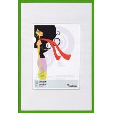 Рамка для фотографий Walther N.Lifestyle пластик зеленая 10x15 см