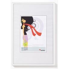 Рамка для фотографий Walther N.Lifestyle пластик белая 10x15 см
