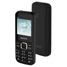 Телефон Maxvi C3 Black