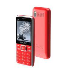 Телефон Maxvi P16 Red