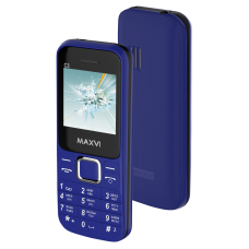 Телефон Maxvi C3 Blue