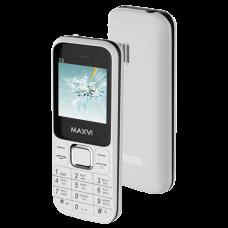 Телефон Maxvi C3 White