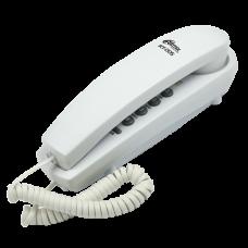 Телефон проводной RITMIX RT-005, белый
