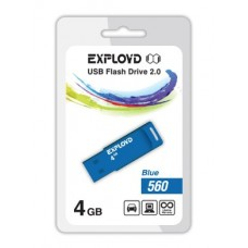 Флеш-накопитель USB 4GB Exployd 560 Blue (EX-4GB-560-Blue)