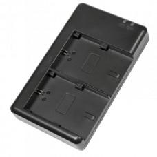 Двойное зарядное устройство Dual Charger для Nikon EN-EL14 (Micro USB)