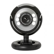 Веб-камера Defender C-110 /сенс 0,3МП/ черный