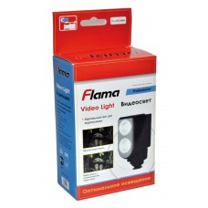 Светодиодный видеосвет Flama FL-LED5004 для фото и видеокамер (в комплекте акк. 5400mAh)