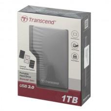 Внешний жесткий диск 1TB Transcend StoreJet TS1TSJ25A3K, 2.5, USB 3.0, Противоударный, Черный