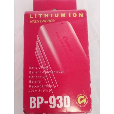 Аккумулятор Canon BP-924 / BP-927 / BP-930