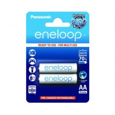 Аккумуляторы Panasonic Eneloop BK-3MCCE/2BE 1900 mAh, 2 шт, AA