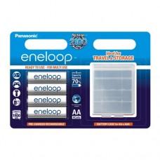 Аккумуляторы Panasonic Eneloop BK-3MCCEC4BE 1900 mAh, 4 шт, AA с кейсом