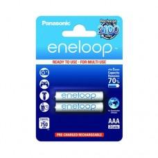 Аккумулятор Panasonic Eneloop BK-4MCCE/2BE 750 mAh, 2шт, AAA