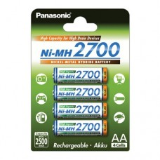 Аккумулятор Panasonic BK-3HGAE/4BE 2700 mAh, 4шт, AA