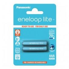 Аккумулятор PANASONIC Eneloop Lite AAA 550 2BP (BK-4LCCE/2BE)