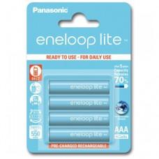 Аккумуляторы Panasonic Eneloop lite BK-4LCCE/4BE 550 mAh, 4 шт, AAA
