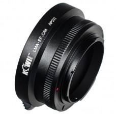 Переходное кольцо JJC KIWIFOTOS LMA-EF_C/M (Canon EF, Canon EF-M)