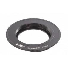 Переходное кольцо JJC KIWIFOTOS LMA-M42 для CANON EOS