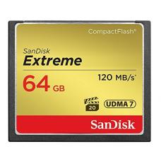 Флеш карта CF 64GB SanDisk Extreme 120MB/s (SDCFXSB-064G-G46)