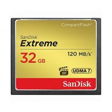 Флеш карта CF 32GB SanDisk Extreme 120MB/s (SDCFXSB-032G-G46)
