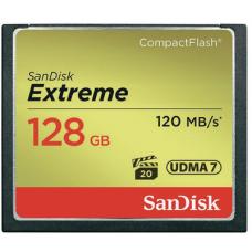 Флеш карта CF 128GB SanDisk Extreme 120MB/s (SDCFXSB-128G-G46)