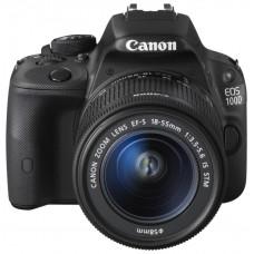 Зеркальный фотоаппарат Canon EOS 100D kit 18-55 DCIII Black