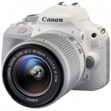 Зеркальный фотоаппарат Canon EOS 100D kit 18-55 IS STM White